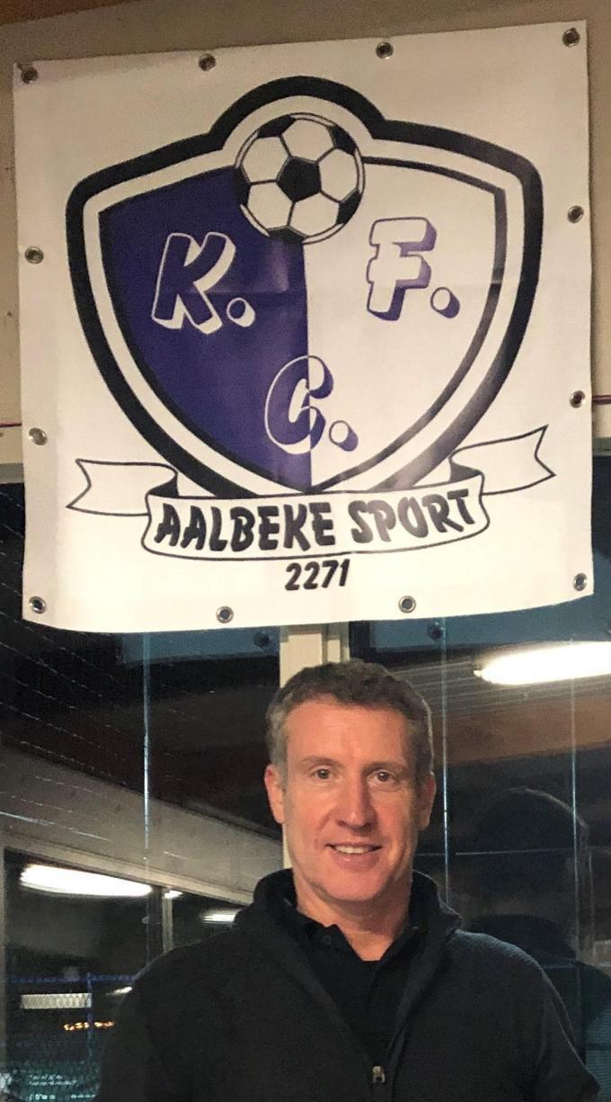 Rodrigue Derycke ambieert promotie met Aalbeke Sport. (Foto MVA)