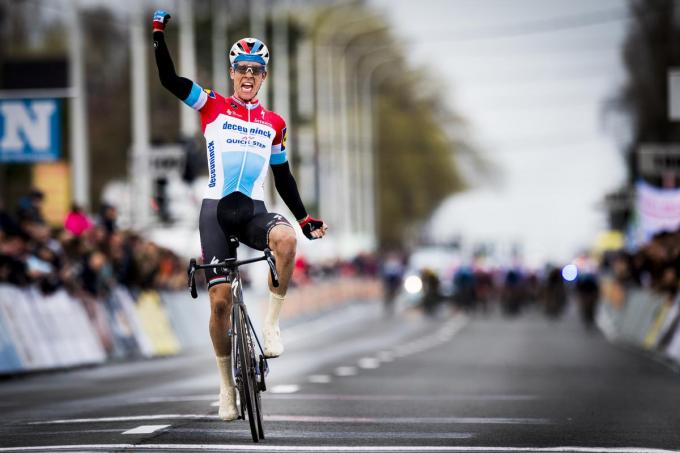 Bob Jungels won in 2019 bij de elite.© (Foto BELGA)