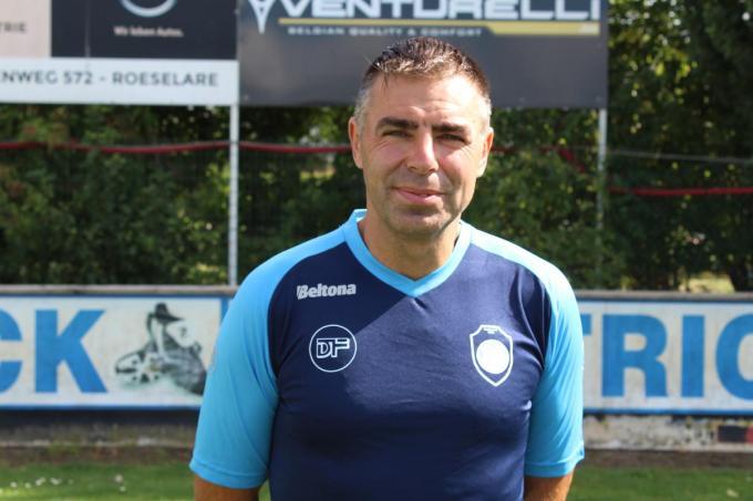 Eddy Verbeeck blijft trainer bij Eendracht Hooglede.© JT