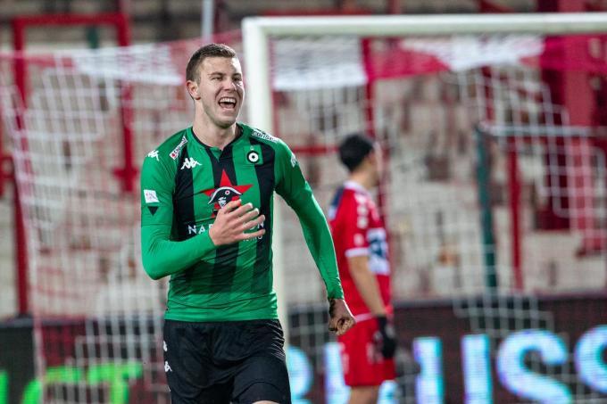 Strahinja Pavlovic scoorde in zijn eerste wedstrijd voor Cercle.© BELGA