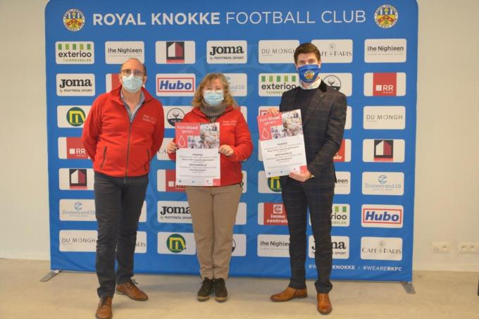 Peter Warlop, Thomas Bernaert en Isabelle Boudens. (foto DM)
