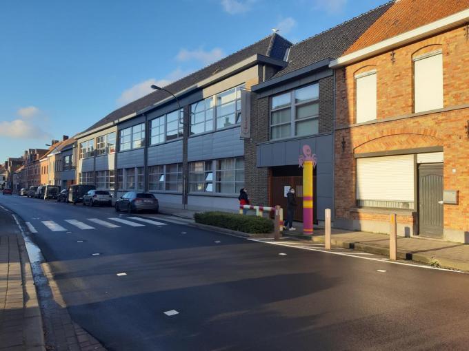 In de vrije basisschool in Langemark zitten twee klassen in quarantaine.© TOGH