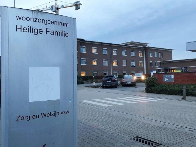 Woonzorgcentrum Heilige Familie Kuurne.© BRU