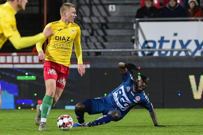 Ante Palaversa speelde vorig seizoen voor KV Oostende.© Belga