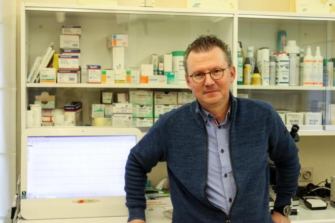 """Christophe Depamelaere: """"Dokter word je omdat je mensen wil helpen""""© KV"""