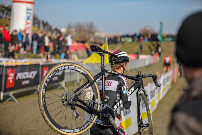 Geen Belgisch kampioenschap veldrijden voor de jeugd in Middelkerke.©Luc Cassiman Luc Cassiman