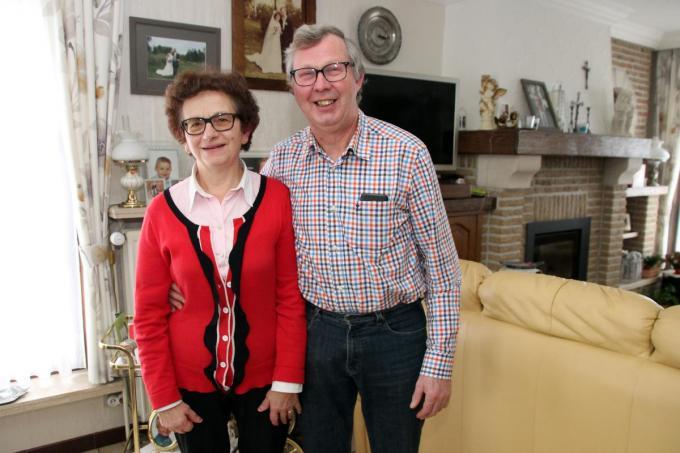 Johan en zijn echtgenote Christine zijn beiden actief in het verenigingsleven.©Geert Vanhessche GJZ