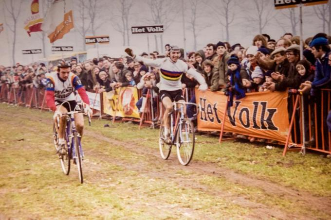 Bertje Vermeire op het BK voor amateurs in Beernem in 1978.© Davy Coghe