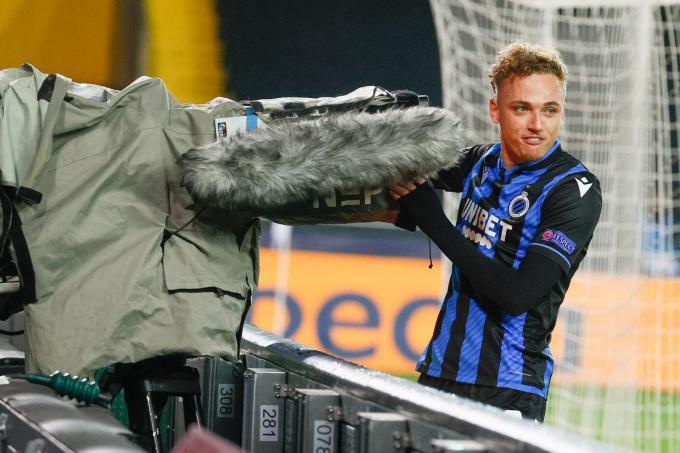 Op amper enkele maanden tijd heeft de piepjonge Noa Lang al tal van voetbalharten veroverd in België.© BELGA