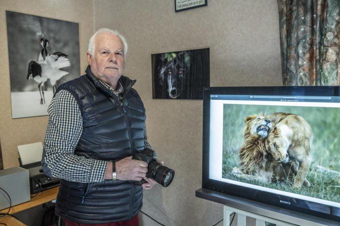 Natuurfotograaf Reginald Popelier verblijft jaarlijks 5-6 maanden in het buitenland.©STEFAAN BEEL Stefaan Beel