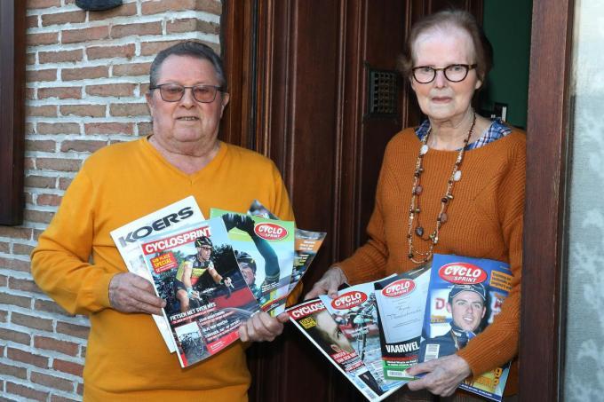 René Grimmonprez begon met verzamelen toen zijn neef André Noyelle olympisch wielerkampioen werd in 1952.©Eric Flamand