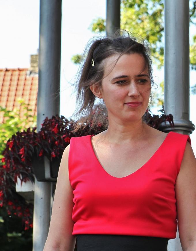 Maud Vanhauwaert.© (Foto MVQ)
