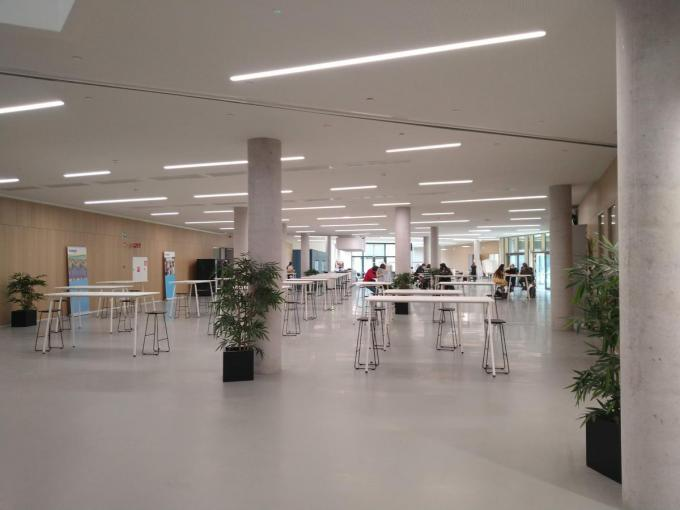 De opleiding Communicatiemanagement wordt ingericht op de nieuwe campus The Penta op Kortrijk Weide.© AN