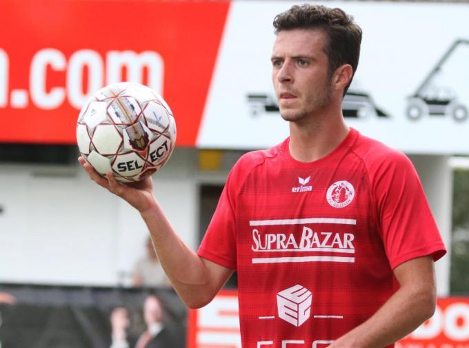 Jarne Jodts verdedigt straks niet langer de kleuren van FC Gullegem, maar die van KSKV Zwevezele.©VDB / Bart Vandenbroucke VDB