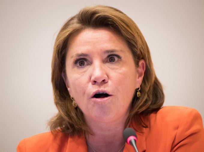 Heidi De Pauw, directeur van Child Focus.©BENOIT DOPPAGNE Belga