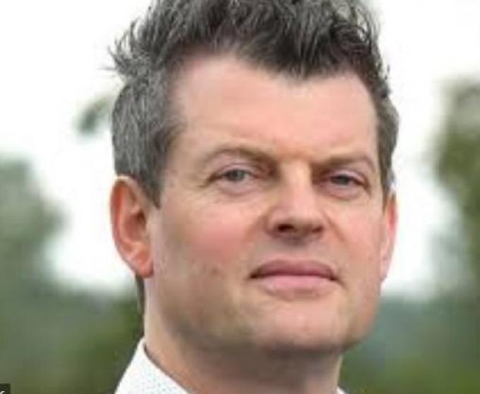 Burgemeester Bart Van Hulle.© gf