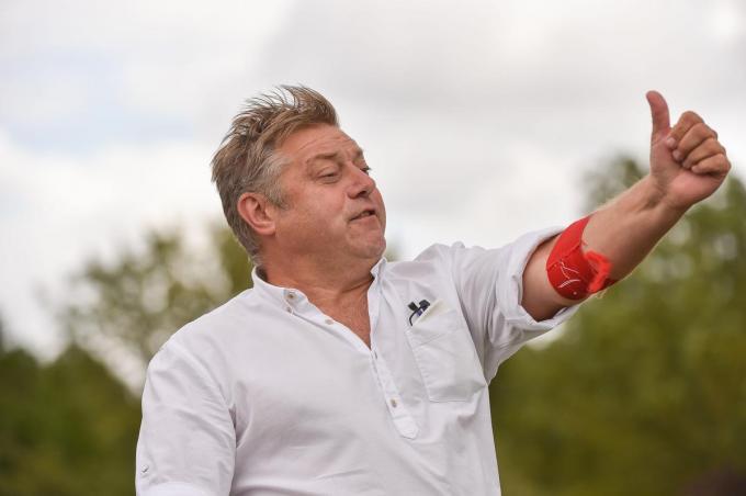 Trainer Pascal Verriest.©VDB / Dirk Vuylsteke VDB