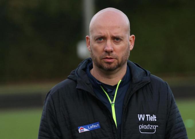 VV Tielt-coach Cedric Renard.© foto Bart
