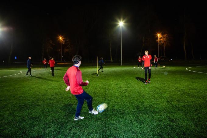 De U17-spelers kunnen weer samen trainen.© Davy Coghe