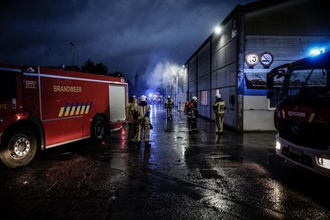 De brandweer was de situatie vlug meester.© CL