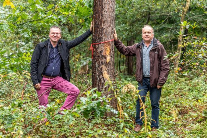 Christophe Depamelaere uit Wingene en Bruggeling Ivan De Clerck hebben samen de vzw Bescherming Bomen en Natuur - BB&N - opgericht.©WMe by Wouter Meeus WME