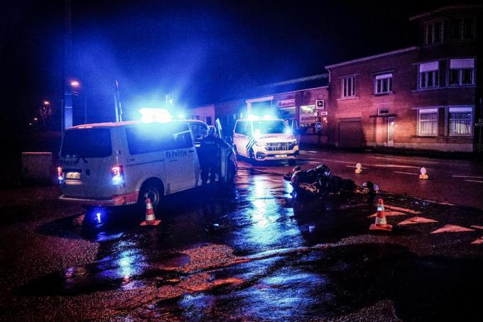 De politie deed de nodige vaststellingen.© CLL