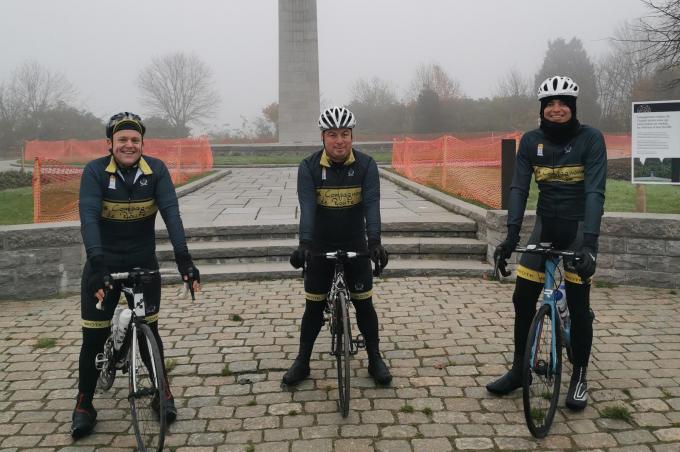 We zien v.l.n.r. Berndt Deprez, Karel Wolters en Wesley Dumez.© TOGH