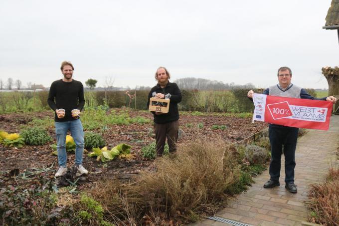 V.l.n.r. Pieter Glorie, Steven Pil en Johan Vandamme.© ACK