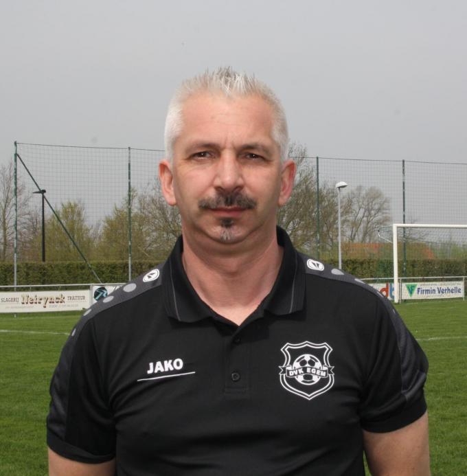 Marnix Demeyere neemt volgend seizoen een sabbatjaar als trainer van de ploeg in tweede provinciale.© WV