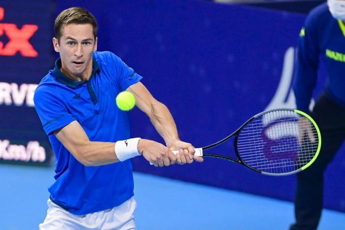 Kimmer Coppejans begint maandag na een heel speciale maand januari aan de Australian Open. (foto Belga)© BELGA