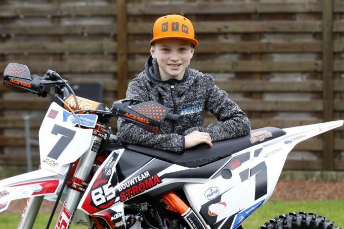 Ian Ampoorter rijdt vanaf dit seizoen een internationaal motorcrossprogramma met zijn nieuw team. (foto Coghe)© Foto Coghe