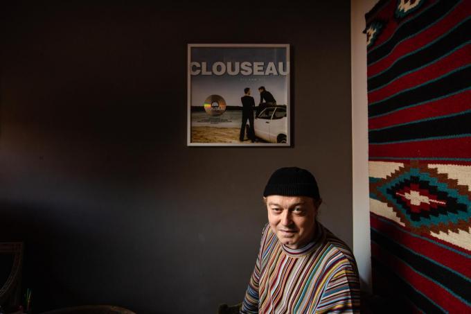 Stefaan Fernande is de man achter hits als Nobelprijs, Porselein, Dum Tek Tek en Gloria.©Davy Coghe Davy Coghe