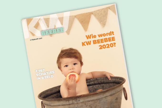 KW Beebee, vanaf vandaag vrijdag verkrijgbaar. Gratis bij De Krant van West-Vlaanderen.© kw