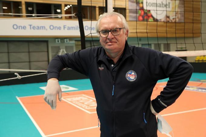 Patrick Callens doorzwom als ploegbegeleider al heel wat watertjes.©VDB / Bart Vandenbroucke VDB