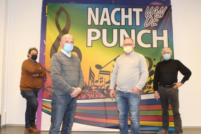 Bestuursleden Henk Verhelle, Lieven Coghe, Tomas De Meyer en ondervoorzitter Regis Heyman.© JT
