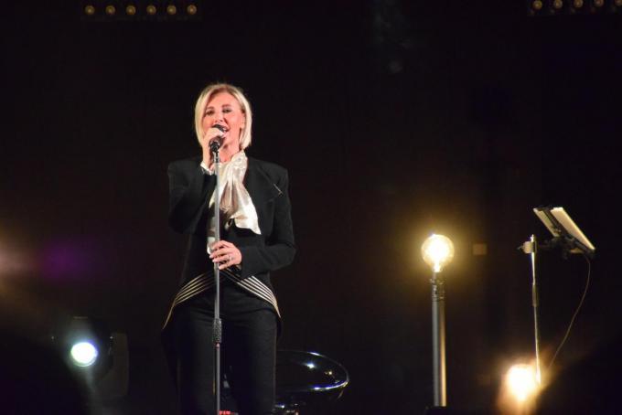 Dana Winner tijdens haar optreden vorig jaar in oktober in Spiere-Helkijn.© PADI/Jens