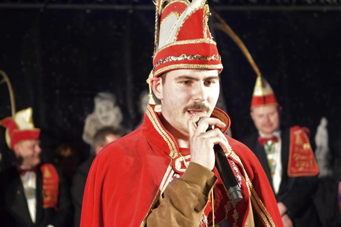 Prins Stef kan via een bubbelverkiezing dit jaar tientallen opvolgers krijgen. (foto AV)