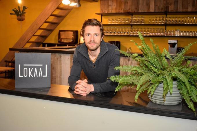 Dieter Valentin wil van de locatie een polyvalente ruimte met café en werkruimte maken.© EG
