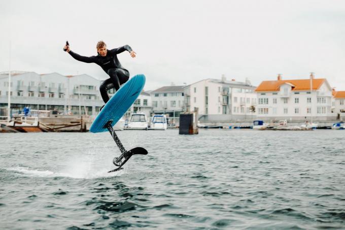 Binnenkort heb je geen wind of golven meer nodig om te kunnen surfen.©Pau Puig