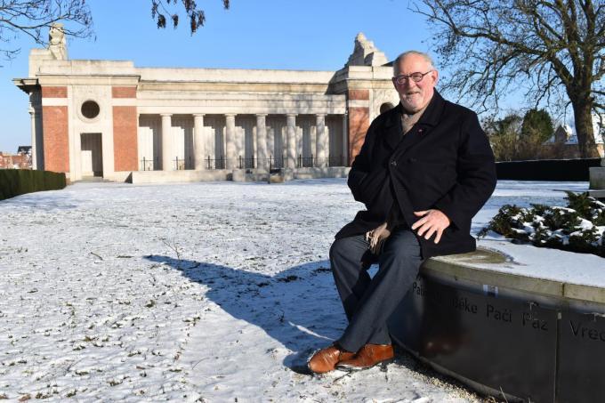 """Jan Durnez: """"Het bezoek van de Europese top aan de Menenpoort is een van mijn mooiste herinneringen.""""© TOGH"""