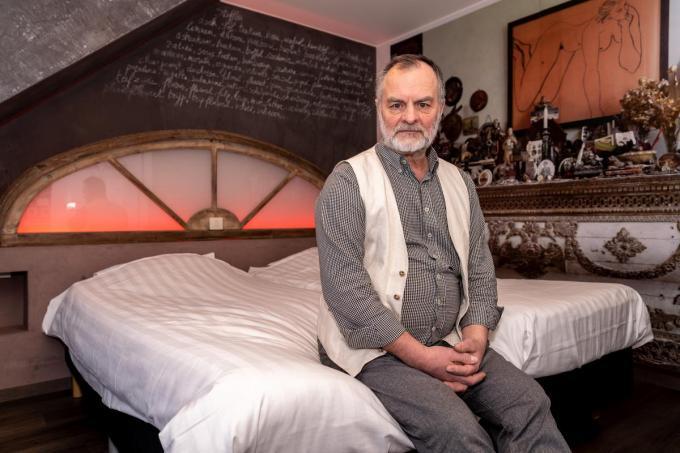 """Jan Van Baelen van het Focus Hotel: """"Toen het telefoontje kwam heb ik gewoon ja gezegd.""""©Kurt De Schuytener Kurt De Schuytener"""