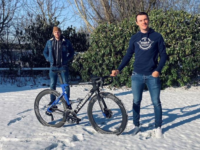 """Wouter Deboot over Yves Lampaert: """"Natuurlijk kan hij Parijs-Roubaix winnen."""" (GF)"""
