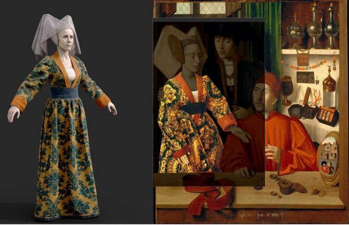 Met de nieuwste technologieën worden historische 2D-beelden omgezet in 3D-beelden.©Hannelore Denolf Westtoer