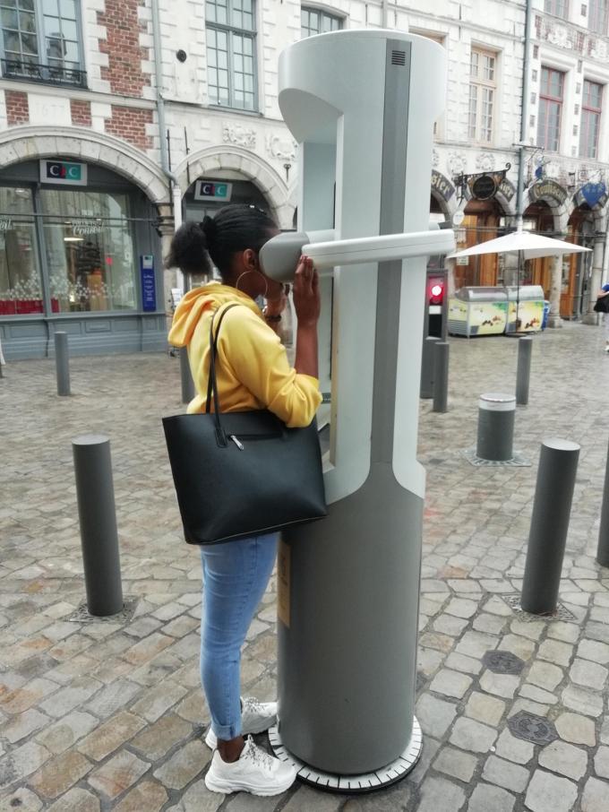 Langs de fietsroute zullen verschillende virtual reality-kijkers opgesteld staan.© Westtoer