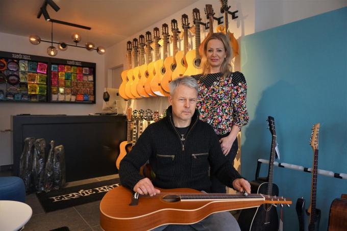 Guy Van Eeckhaute en Saskia Vandaele.© TVA