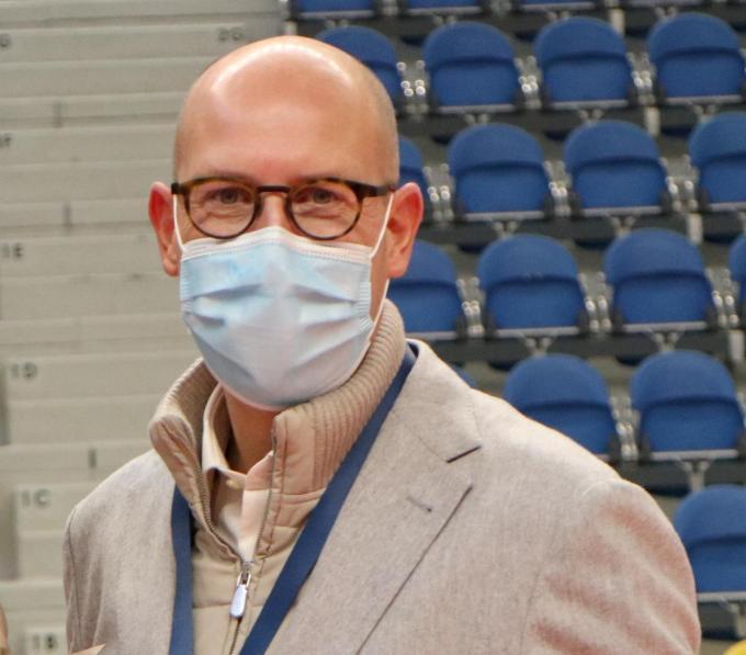 Francis De Nolf is voorzitter van de Liga Volleybal.©VDB / Bart Vandenbroucke VDB
