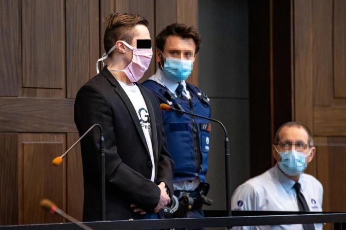 Jordy Vande Sompele werd door de jury schuldig bevonden.©KURT DESPLENTER BELGA