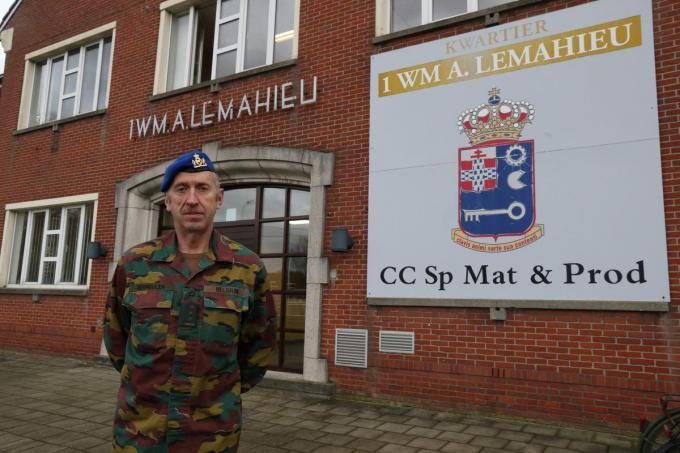 Wijlen kolonel Carlos Vermeulen.©Eric Flamand