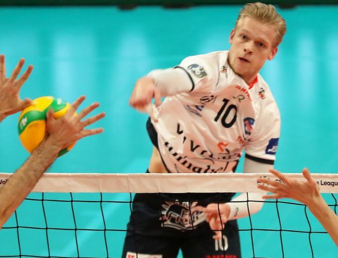 Mathijs Desmet was topscorer met 23 punten.© VDB