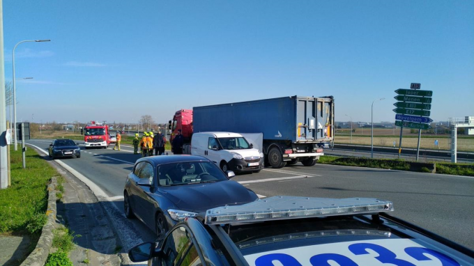 Het ongeval gebeurde op 25 maart 2020.© CLL